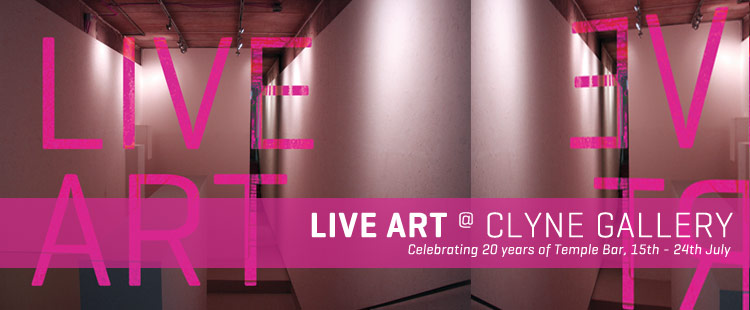 Special Events: Live Art @ Clyne Gallery